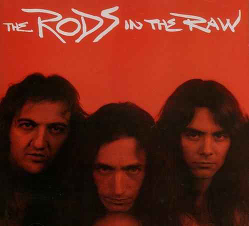 CD The Rods - In The Raw - Importado - +Bônus - Lacrado