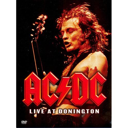 DVD AC/DC - Live At Donington - Digipack - Lacrado