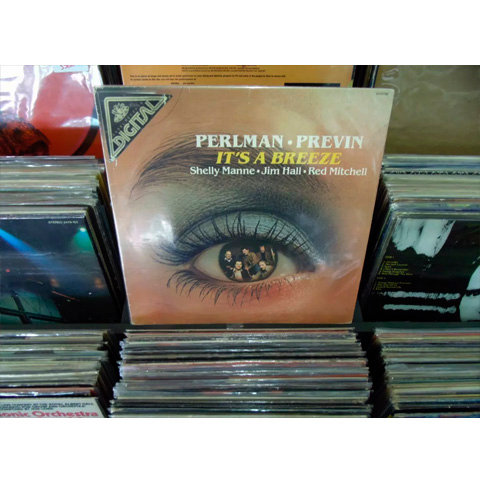LP It's A Breeze - André Previn, Itzhak Perlman, Shelly Manne... - Importado