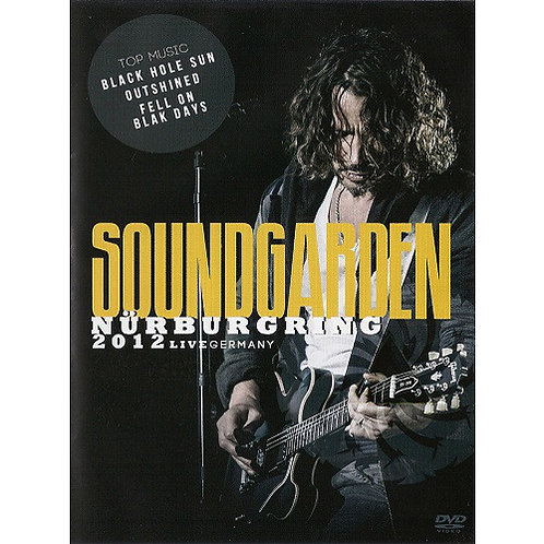 DVD Soundgarden - Nürburgring 2012 Live Germany - Lacrado