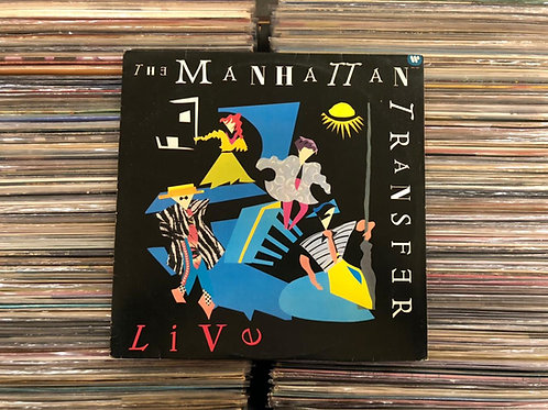 LP The Manhattan Transfer - Live