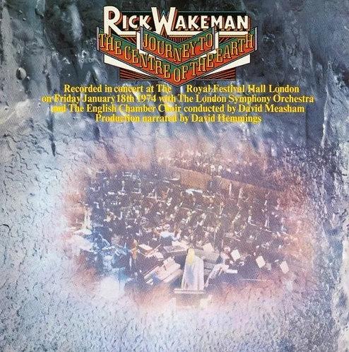 CD Rick Wakeman - Journey To The Centre Of The Earth - Importado - Lacrado