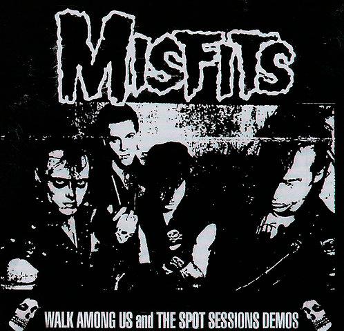 CD Misfits - Walk Among Us And The Spot Sessions Demos - Importado - Lacrado
