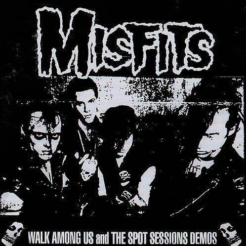 CD Misfits - Walk Among Us And The Spot Sessions Demos - Importado - Lacrado