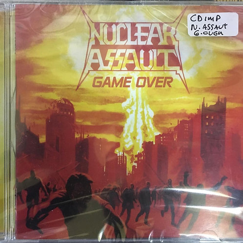 CD Nuclear Assault - Game Over - Importado - Lacrado