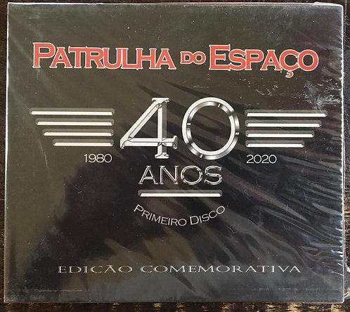 CD Patrulha Do Espaço - 40 anos Primeiro Disco - Edição Comemorativa - Slipcase