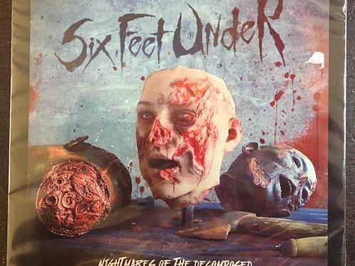 CD Six Feet Under - Nightmares Of The Decomposed - Slipcase - Lacrado