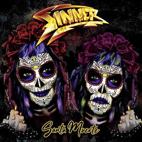 CD Sinner - Santa Muerte - Lacrado