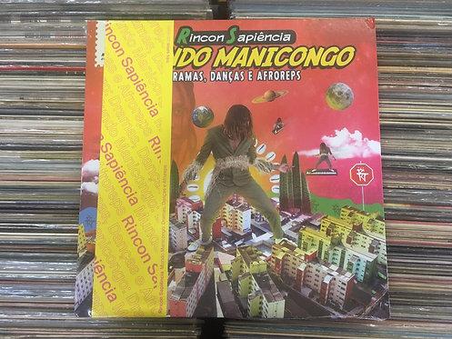 LP Rincon Sapiência - Mundo Manicongo - Lacrado - Capa Dupla