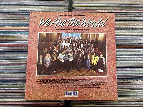 LP Usa For Africa - We Are The World - Com Encarte