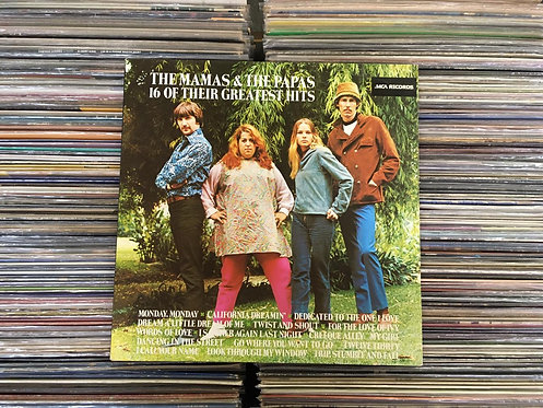 LP The Mamas & The Papas - 16 Of Their Greatest Hits