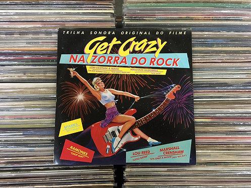 LP Get Crazy / Na Zorra Do Rock - Trilha Sonora Original Do Filme