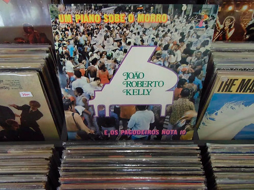 LP Joao Roberto Kelly - Um Piano Sobe O Morro