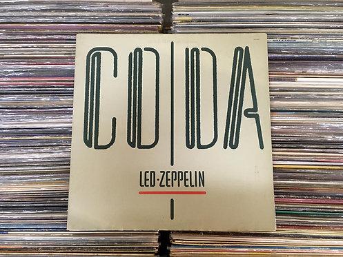 LP Led Zeppelin - Coda - Com Encarte - Capa Dupla