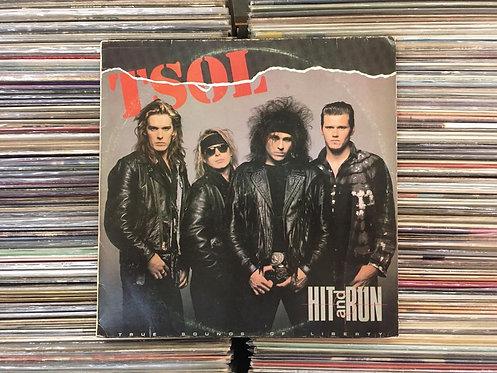 LP T.S.O.L. - Hit And Run - Com Encarte