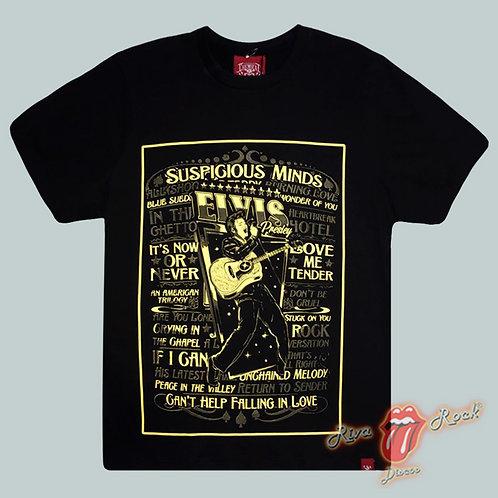 Camiseta Elvis - Songs - Chemical
