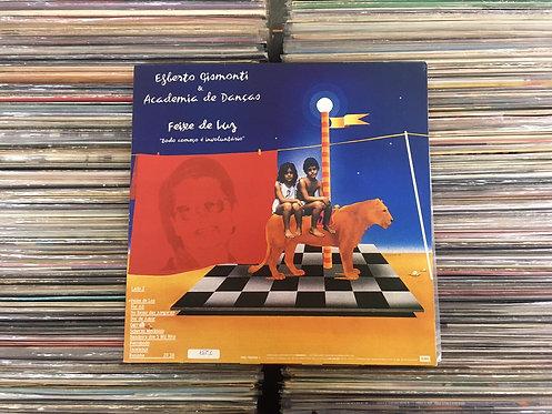 LP Egberto Gismonti & Academia De Danças - Feixe De Luz - C/ Encarte