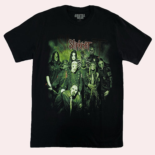 Camiseta Slipknot - Banda - Brutal
