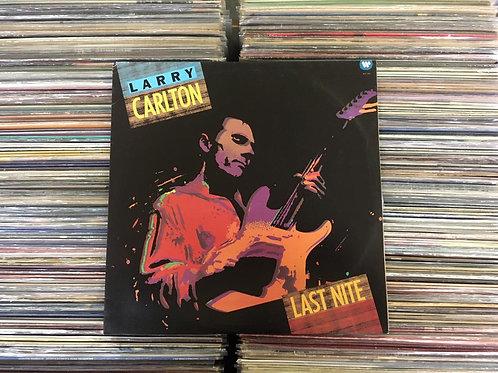 LP Larry Carlton - Last Nite