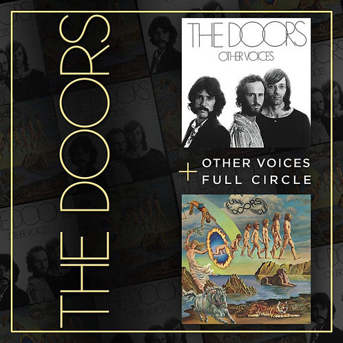 CD The Doors - Other Voices + Full Circle - Duplo - Lacrado