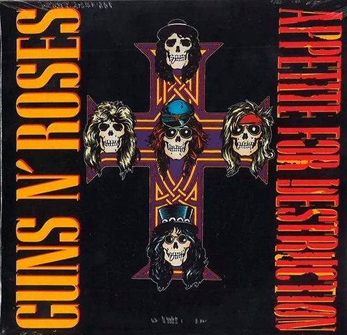 CD Guns N' Roses - Appetite For Destruction - Duplo - Lacrado