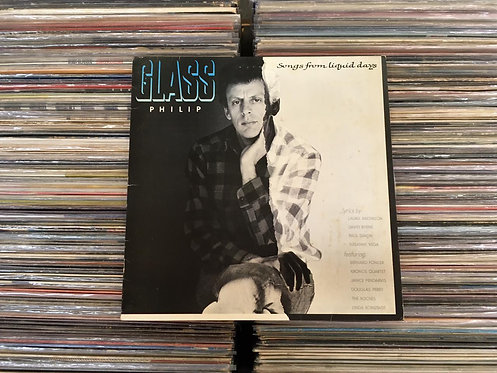 LP Philip Glass - Songs From Liquid Days - C/ Encarte