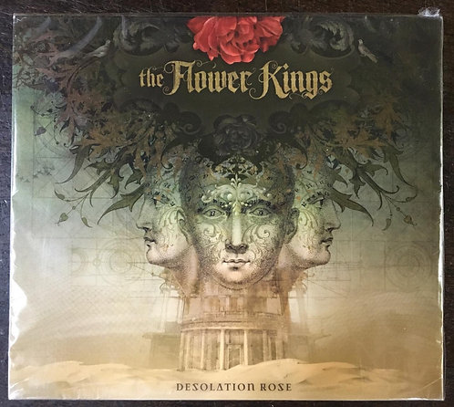 CD The Flower Kings - Desolation Rose - Slipcase - Lacrado