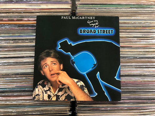 LP Paul Mccartney - Give My Regards To Broad Street - Capa Dupla - C/ Encarte