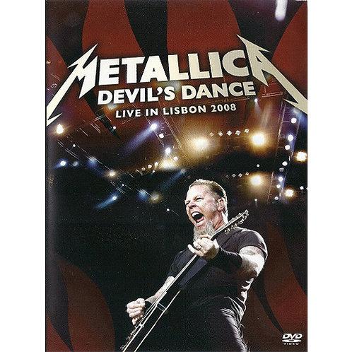 DVD Metallica - Devil's Dance: Live In Lisbon 2008 - Lacrado