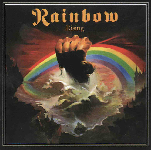 CD Rainbow - Rising - Importado - Lacrado