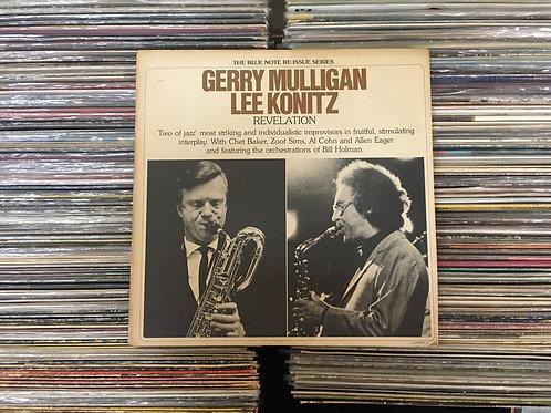 LP Gerry Mulligan & Lee Konitz - Revelation - Duplo - Importado