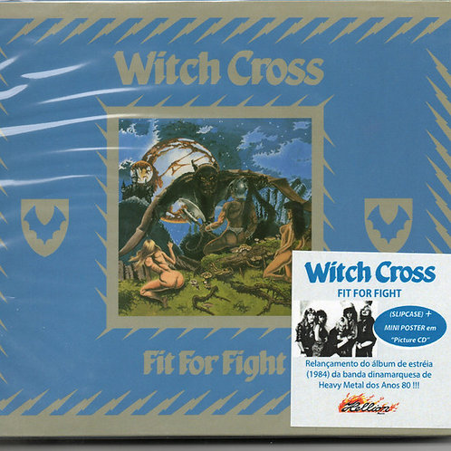 CD Witch Cross - Fit For Fight - Slipcase - Lacrado