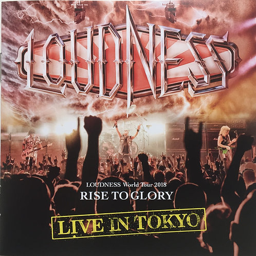 CD Duplo + DVD Loudness - World Tour 2018 Rise To Glory - Live In Tokyo