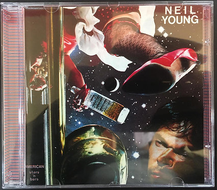 CD Neil Young - American Stars 'n Bars - Importado