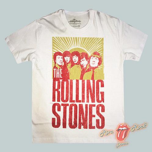 Camiseta The Rolling Stones - Banda - Stamp