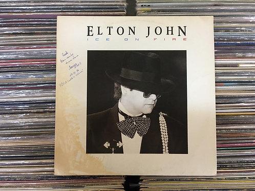 LP Elton John - Ice On Fire - Com Encarte