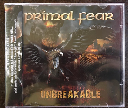 CD Primal Fear - Unbreakable - Lacrado