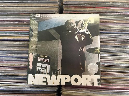 LP Newport Jazz Festival: Live (Unreleased Highlights From 1956, 1958, 1963)