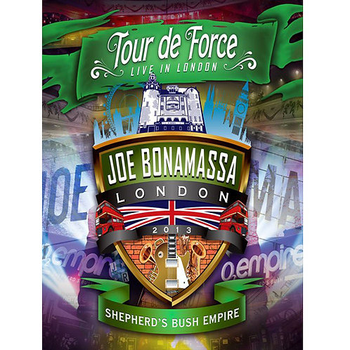 DVD Joe Bonamassa - Tour De Force - Live In London - Shepherd's Bush Empire