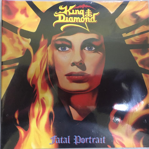 CD King Diamond - Fatal Portrait - Paper Sleeve - Lacrado