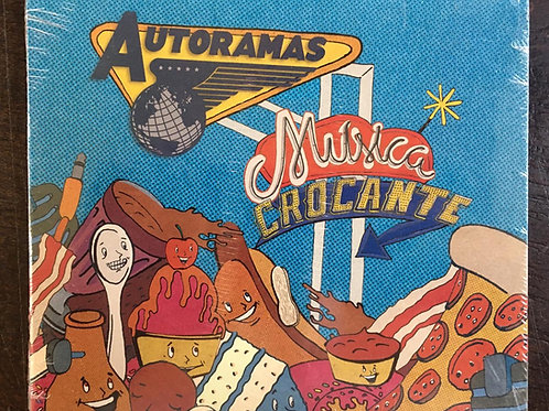 CD Autoramas - Música Crocante - Digipack - Lacrado
