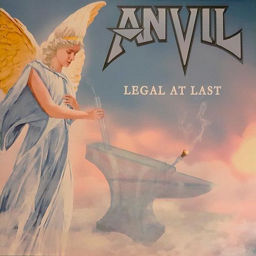 CD Anvil - Legal At Last - Digipack - Lacrado
