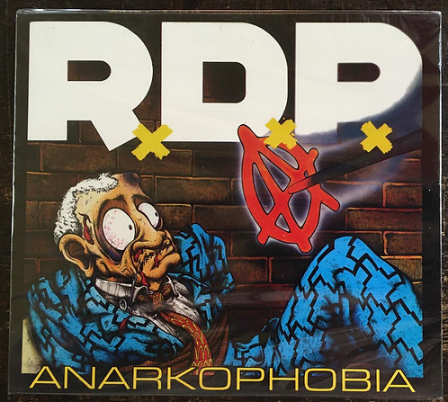 CD Ratos De Porão - Anarkophobia - +bônus - Lacrado