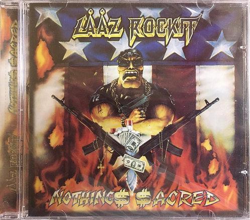 CD Lääz Rockit - Nothings Sacred - Lacrado