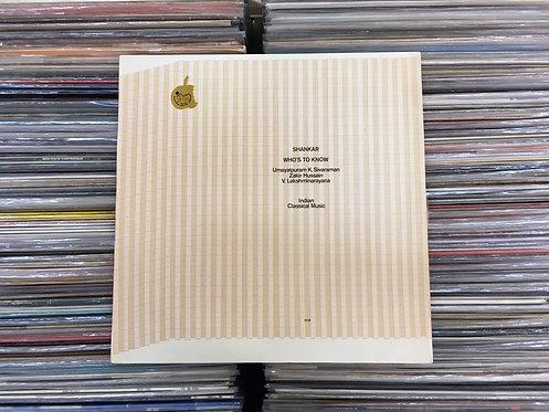 LP Shankar - Who's To Know - C/ Encarte