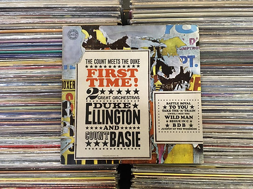 LP Duke Ellington And Count Basie - First Time!