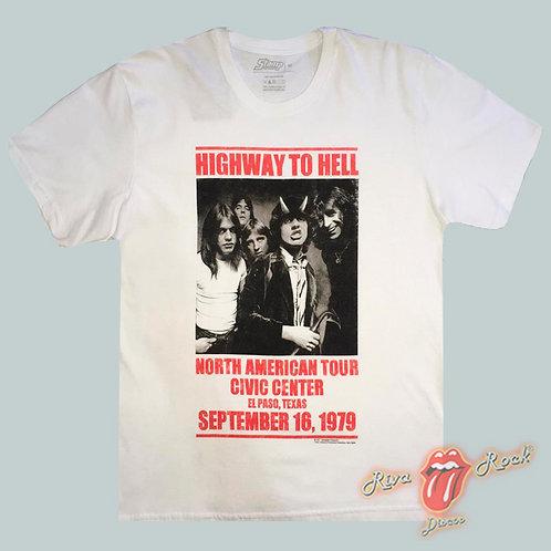 Camiseta AC/DC - North American Tour - Stamp