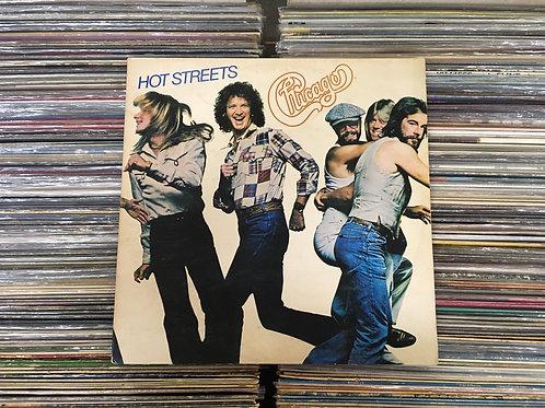 LP Chicago - Hot Streets - Com Encarte - Capa Dupla