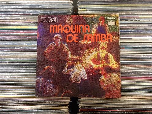 LP Máquina De Samba - 1973 - Vários Artistas