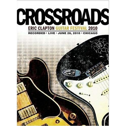 DVD Crossroads - Eric Clapton Guitar Festival 2010 - Importado - Duplo - Lacrado